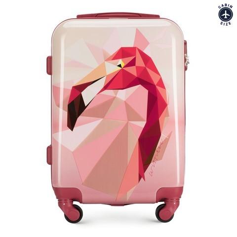 ABS kis kabinbőrönd, rózsaszín, 56-3A-641-90, Fénykép 1