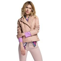 Dámská bunda, růžová, 86-9P-104-P-L, Obrázek 1