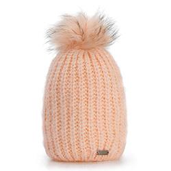 Dámská čepice, růžová, 87-HF-016-P, Obrázek 1