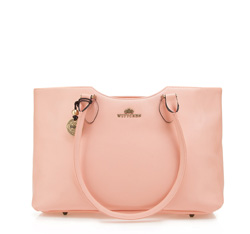 Dámská kabelka, růžová, 82-4E-915-P, Obrázek 1