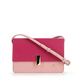 Dámská kabelka, růžová, 90-4E-356-P, Obrázek 1