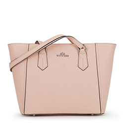 Dámská kabelka, růžová, 90-4E-608-P, Obrázek 1