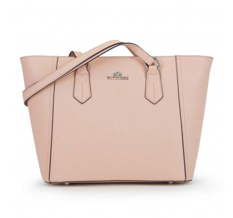 Dámská kabelka, růžová, 90-4E-608-7, Obrázek 1
