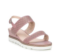 Dámské sandály, růžová, 88-D-970-P-37, Obrázek 1