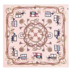 Dámský šátek, růžová, 87-7D-S22-X5, Obrázek 1