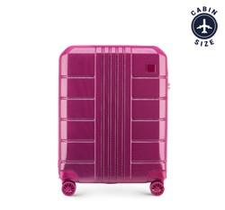 Kabinový cestovní kufr, růžová, 56-3P-821-60, Obrázek 1