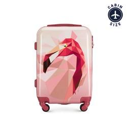 Kabinový cestovní kufr, růžová, 56-3A-641-34, Obrázek 1