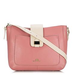 Taška přes rameno, růžová, 88-4E-364-P, Obrázek 1