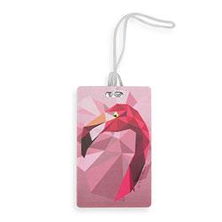 Jmenovka na zavazadlo, růžová, 56-30-018-3Y, Obrázek 1