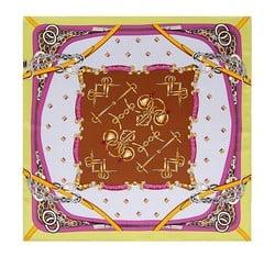 Dámský šátek, růžovo-bílá, 86-7D-S13-X7, Obrázek 1