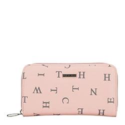 Dámská peněženka, růžovo-šedá, 90-1Y-550-P, Obrázek 1