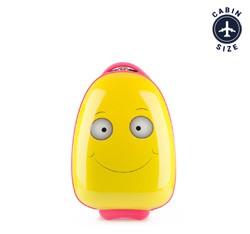ABS gyermek bőrönd, sárga, 56-3K-003-O, Fénykép 1