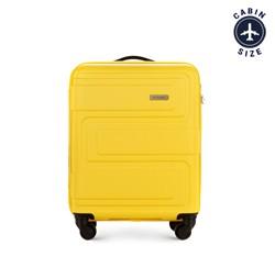 Kis bőrönd dombornyomott, sárga, 56-3A-631-50, Fénykép 1