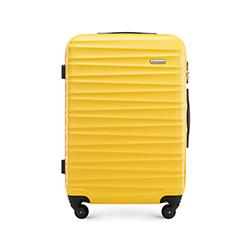 Közepes bőrönd, sárga, 56-3A-312-50, Fénykép 1