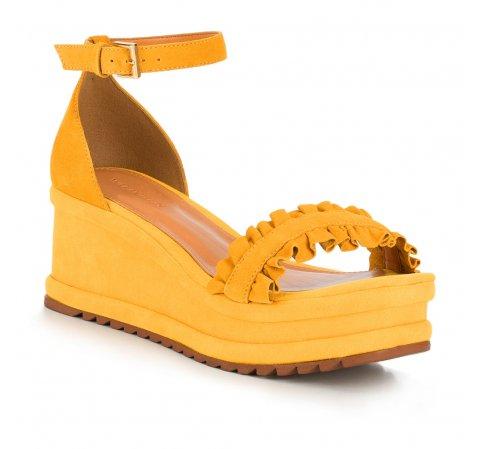 Női cipő, sárga, 88-D-712-Y-40, Fénykép 1