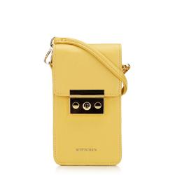 Női mini levéltáska, sárga, 92-2Y-564-Y, Fénykép 1
