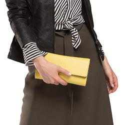 Női táska, sárga, 86-4E-433-Y, Fénykép 1
