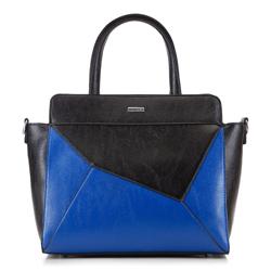 Tragetasche, schwarz-blau, 88-4Y-507-1, Bild 1
