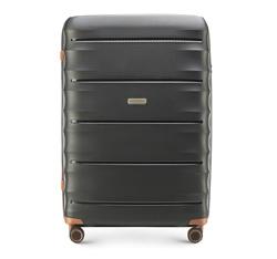 Großer Koffer, schwarz-braun, 56-3T-763-10, Bild 1