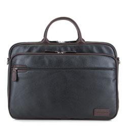 Laptoptasche, schwarz-braun, 85-3P-320-1, Bild 1