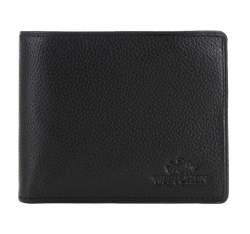 Herren- Geldbörse aus Leder, schwarz, 02-1-236-1L, Bild 1