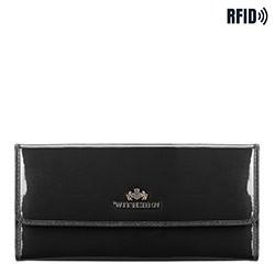 Brieftasche, schwarz, 14-1L-003-1, Bild 1