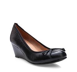Damen Ballerina Schuhe, schwarz, 83-D-600-1-37, Bild 1