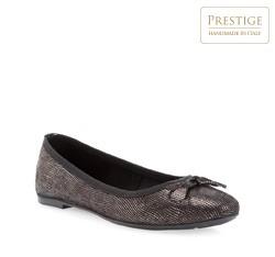 Damen Ballerina Schuhe, schwarz, 84-D-801-1-36, Bild 1