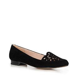 Damen Ballerina Schuhe, schwarz, 90-D-965-1-39, Bild 1