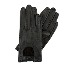 DAMEN-HANDSCHUHE, schwarz, 46-6L-292-1-L, Bild 1