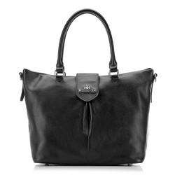 Damen Handtasche, schwarz, 87-4E-206-1, Bild 1