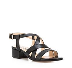 Damen Sandalen, schwarz, 84-D-406-1-37, Bild 1