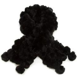 Damen Schal, schwarz, 87-7F-009-1, Bild 1