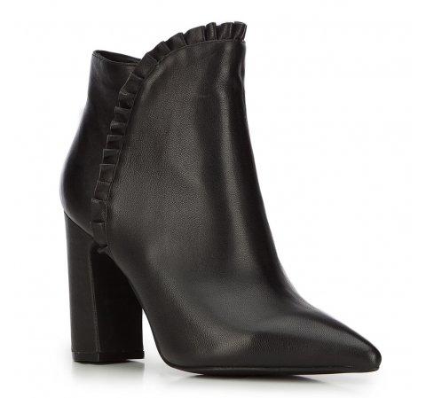 Damen Stiefeletten, schwarz, 87-D-905-1-39, Bild 1