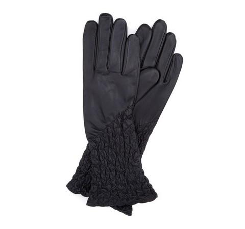Damenhandschuhe, schwarz, 39-6-214-L-L, Bild 1