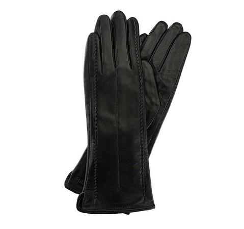 Damenhandschuhe, schwarz, 39-6-511-1-V, Bild 1