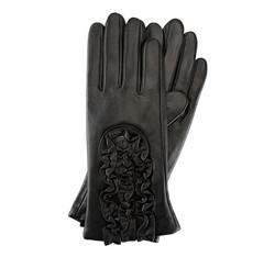 Damenhandschuhe, schwarz, 39-6-518-1-S, Bild 1