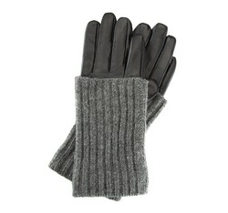 Damenhandschuhe, schwarz, 39-6-526-1-X, Bild 1