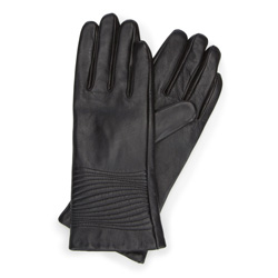 Handschuhe für Frauen, schwarz, 39-6-543-1-M, Bild 1
