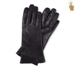Damenhandschuhe, schwarz, 39-6-902-1-M, Bild 1