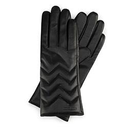 Damenhandschuhe, schwarz, 39-6L-105-1-M, Bild 1