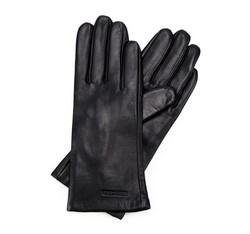 Damenhandschuhe, schwarz, 39-6L-200-1-S, Bild 1