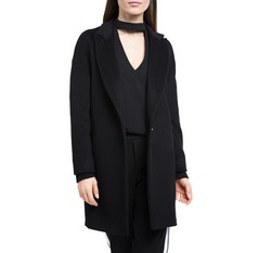 Damenmantel, schwarz, 84-9W-103-1-S, Bild 1