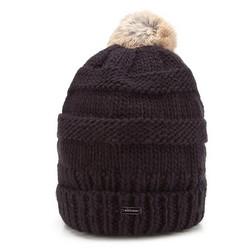 Damenmütze, schwarz, 87-HF-200-1, Bild 1