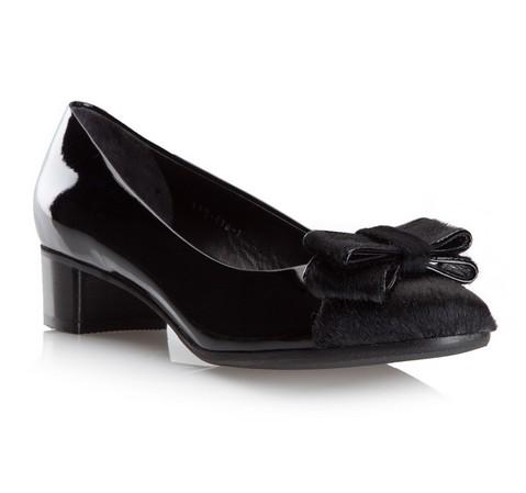 Damenschuhe, schwarz, 79-D-116-1-36, Bild 1