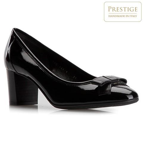 Damenschuhe, schwarz, 79-D-124-1-35, Bild 1