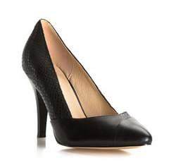 Damenschuhe, schwarz, 81-D-513-1-39, Bild 1