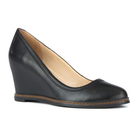 Damenschuhe, schwarz, 81-D-514-5-41, Bild 1