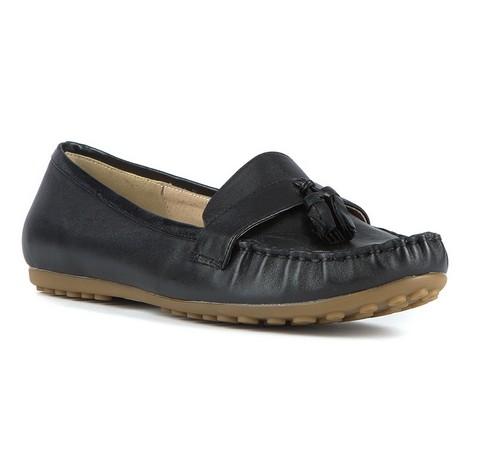 Damenschuhe, schwarz, 81-D-518-1-36, Bild 1
