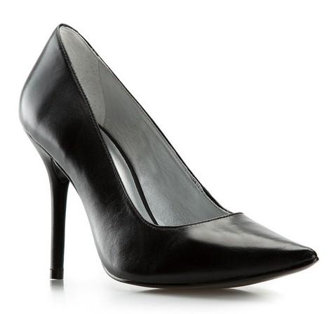 Damenschuhe, schwarz, 81-D-704-1-36, Bild 1